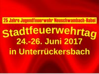 1992-2017: 25 Jahre Jugendfeuerwehr Neuschwambach Habel